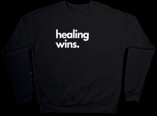 Healing Wins Sweatshirt