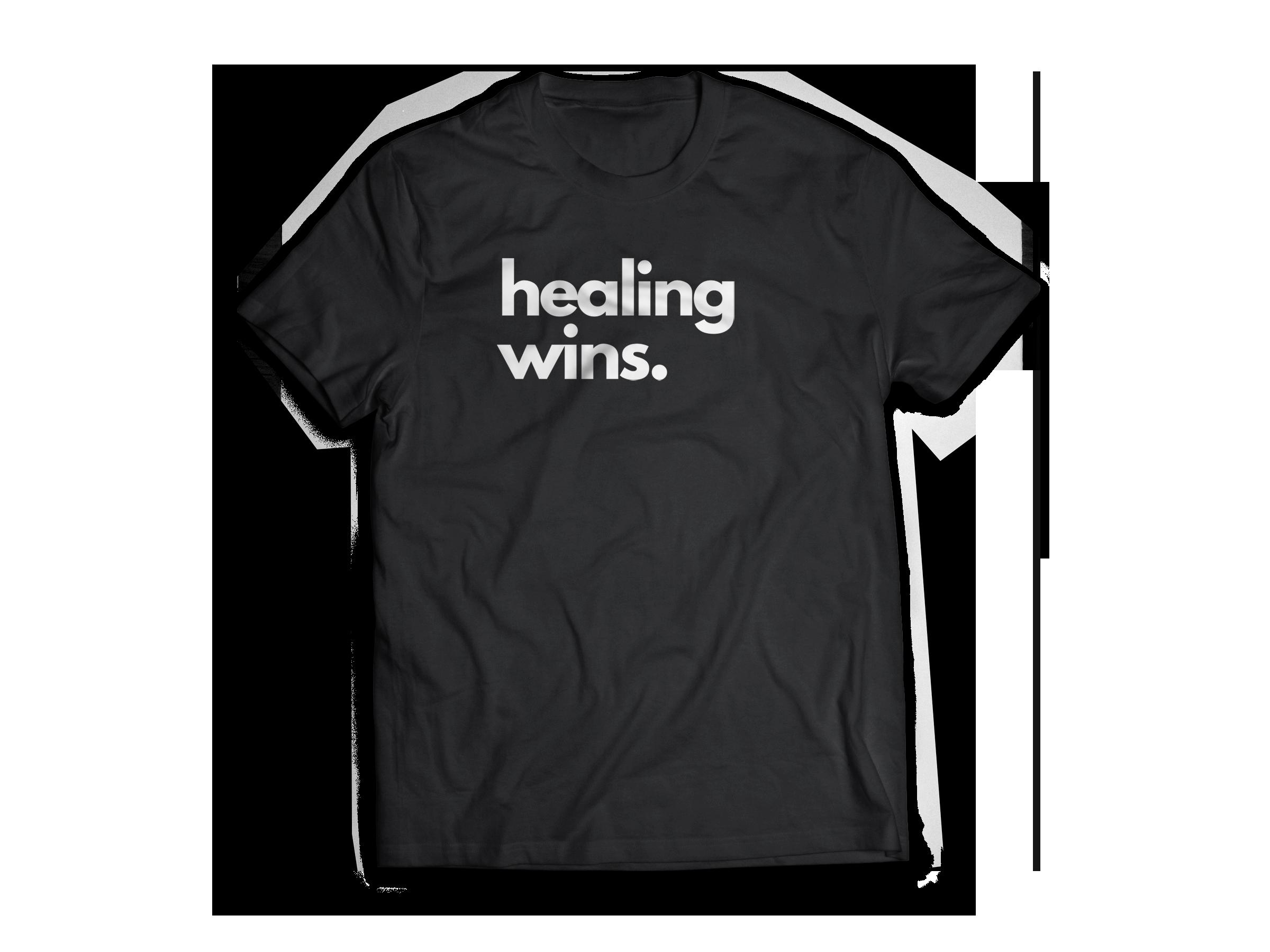 Healing Wins (Female Tshirt)